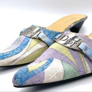 Rare Vintage Dior Pointed Toe Sandle Heels